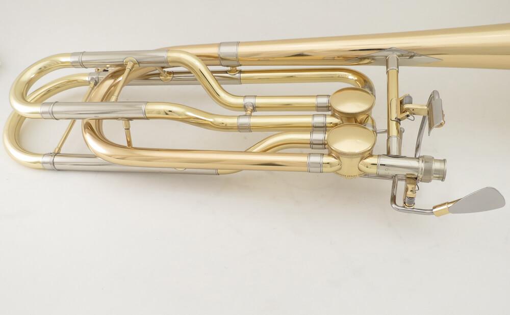 Kanstul 1670 Bass Trombone Conversion from Single Valve to