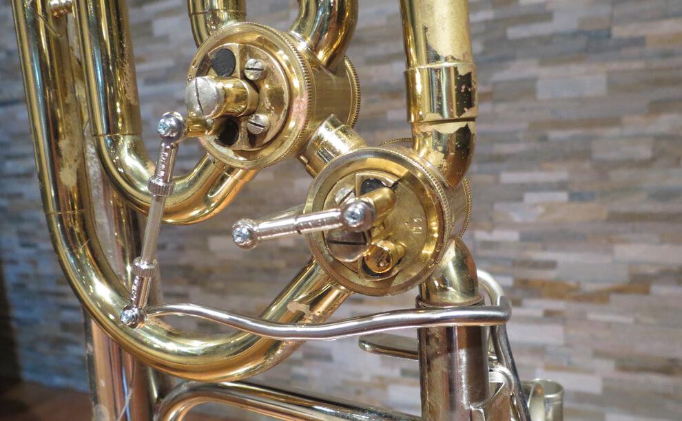 "King 6B ""Duo Gravis"" Bass Trombone conversion from Dual"